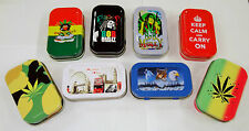 1oz Tobacco Tin/Pocket Tin/Stash Can in Various Designs sold by eTrendz