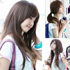 New Style Women Girls Sexy Long Fashion Full Wavy Hair Wig 3 Colors Available