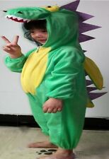 Children Kids Animal Onesie Fancy Dress Costume Outfit Dinosaur Crocodile Dragon
