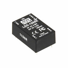 Mean Well LDD-H/LDD-HW DC Constant Current LED Drivers 350mA/500mA/700mA/1000mA