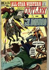 All-Star Western #4-1971 fn El Diablo Neal Adams Gray Morrow Gil Kane