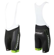 Cannondale Team Factory Cycling Shorts CFR Bib Shorts Black/Green 2015 5T292