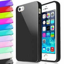 HIGH GLOSS SHINY MIRROR TPU GEL SILICONE CASE COVER FOR IPHONE SE / IPHONE 5S/5