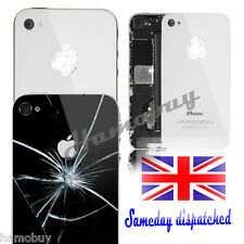 NEW Glass Replacement Back for Apple iPhone 4 4S Rear Battery Cover