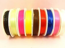 1 Spool x Stretch ELASTIC 0.8mm Magic BEADING String Thread CORD ~ Pick Color ~