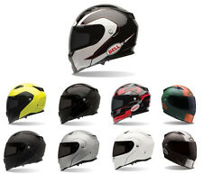 *Ships Within 24 Hrs* Bell Revolver Evo Modular Motorcycle Helmet (Black, White,