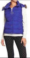 Old Navy Royal Blue Frost Free Flannel Lined Hood Puffer Vest XXLARGE NWT
