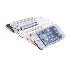 Clear Plastic Hard Case Cover Transparent Bumper Frame For iPhone 5G 5S 1/8 TM3