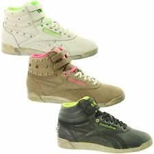 Womens Reebok Freestyle HI Vintage Boots~Classic~Trainers~Choice of 3 Colours