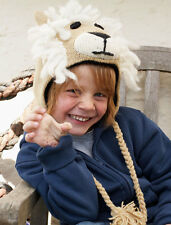 Lion Animal Hat / Mittens - HANDMADE by Pachamama - one size (3-7 years)