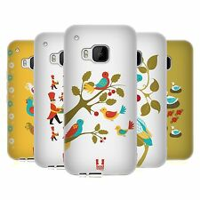 HEAD CASE DESIGNS 12 DAYS OF CHRISTMAS SOFT GEL CASE FOR HTC PHONES 1