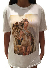 BEYONCE WHITE T-Shirt The Mrs. Carter World Tour