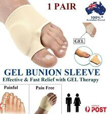 GEL Bunion Protector Toe Separator Straightener  Pain Relief Foot Pad Sleeve