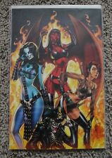 CHAOS! #1 HIGH END J. SCOTT CAMPBELL VIRGIN ART ULTRA LIMITED 1 OF 25 COMIC
