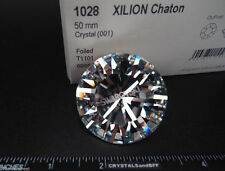 Huge Swarovski Elements Xilion Chaton #1028, 50mm Crystal T1101 (Sw Spirit 2020)