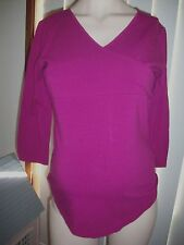 MATERNITY PLUS 3/4 SLEEVE LENGHT CROSS OVER STYLE TOP MEDIUM,XL,XXL
