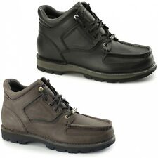 Rockport UMBWE TRAIL WP Mens Leather Waterproof Lace-Up Casual Outdoor Boots