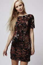 TOPSHOP Sequin Bodycon Party Xmass Going Out Dress NEW in RRP £68