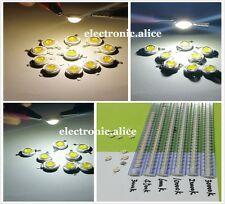 10-1000pcs 1W 3W High Power White 3000k 6500K 10000K-35000K LED Beads Lamp Chip