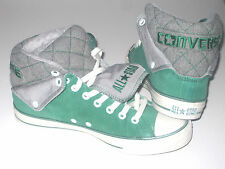 New CONVERSE CT PC PEEL BACK MID Forest Green Trainers 136427C