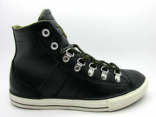 Juniors CONVERSE CT SNEAKER BOOT HI Black Leather Trainers 626086C
