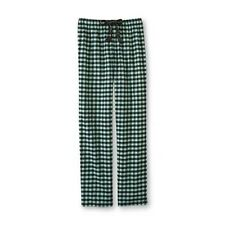 Joe Boxer Women's Flannel Pajama Pants - Buffalo Check Plaid Size Medium & Large