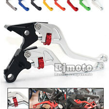 CNC Adjustable Motorcycle Short Levers for Suzuki GSXR600 GSXR750 GSXR1000 2015