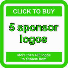 5 SPONSOR Logo Decals JDM Stickers - More than 400 logos to choose from
