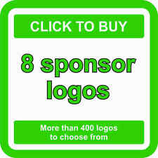 8 SPONSOR Logos Decals JDM Stickers - More than 400 logos to choose from