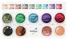 "MAHYA ""WINTER""100% Pure Mineral Multi-Purpose shimmer powder 9 Colors STACK  NEW"