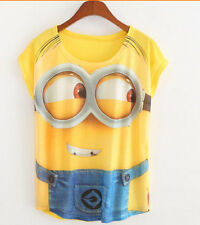 NEW DESPICABLE ME 2 MINIONS NOVELTY FUNNY T-SHIRT GIFT PRESENT MOVIE 3D GAME FUN