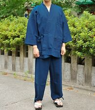 Japanese Men's Traditional Work Wear SAMUE for Winter 100% Cotton 2color 3size