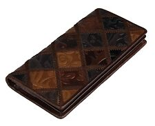 Women Fashion Long Real Leather ID Credit Card Wallet Bifold Cowhide Money Clip