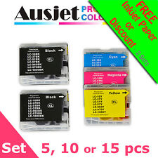 Brother LC37 LC57 Value Pack (5, 10 or 15) Compatible Ink Set DCP MFC printer