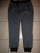 "VICTORIAS SECRET PINK MARLED ""PINK"" ZIP POCKETS COLLEGIATE DOG SWEATPANTS NWT"