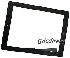 New Touch Screen Digitizer Glass Panel + Adhesive + Home Button For iPad 3rd Gen