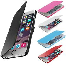 For Apple iPhone 6 4.7 6 Plus Magnetic Flip Wallet Leather Hard Pouch Case Cover