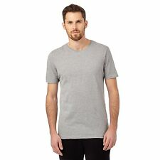 The Collection Mens Pack Of Two Grey Cotton T-Shirts From Debenhams