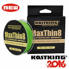 Green MaxThin 8 Strands Braid Fishing Line Saltwater Fishing Line Braided Line
