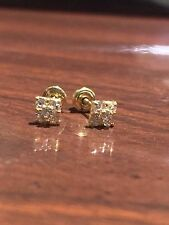 Gorgeous 14K Gold Baby Earrings