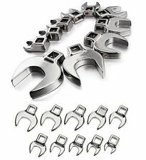 Craftsman Crowfoot Wrench Set 10 SAE, 10 MM, or 20 Pc Inch & Metric