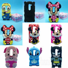 3D Disney Cartoon Silicone Soft Back Case Cover For LG Leon 4G LTE C50 Phone