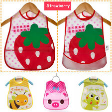 Baby Kid Child Toddler Infant Cute Boy girl Bib Waterproof Saliva Towel Feeding