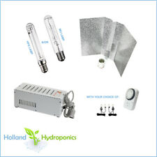 Hydroponics Grow Light Magnetic Ballast Reflector Kit MH HPS Lamps Yoyo Timer