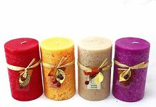 9x20 CM Christmas Home Fragrance Pillar Scented Candle
