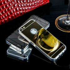 Luxury Ultra Slim Mirror/Make Up Soft Jelly Case Cover Skin For iPhone 5/5s & SE