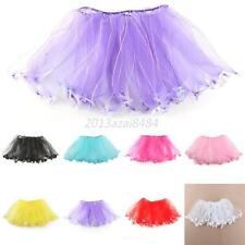 2-7Y Princess Girl Kid Tutu Skirt Party Ballet Dancewear Dress Pettiskirt Skirt