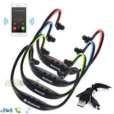 HandFree Wireless Bluetooth Sport Stereo Headset Headphone for Samsung iPhone 6