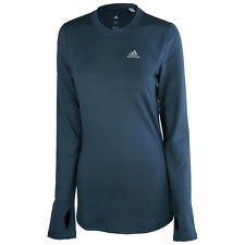 Adidas Women's TF Climawarm Crew Long Sleeve Shirt Training Top AB9818
