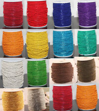 5m/100m Cable Open Link Iron Metal Chain Findings Lots Many Colors To Pick H N